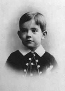 Gibbs aged 4