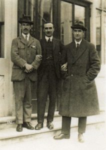 With Arthur Bliss and Cyril Rootham
