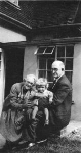 With Honor and grand daughter Jane in about 1952