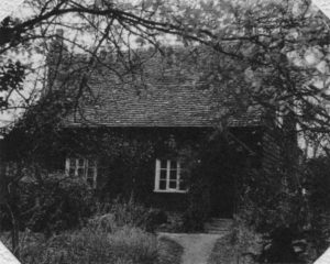 The Cottage-in-the-Bush, their home in Danbury after the war