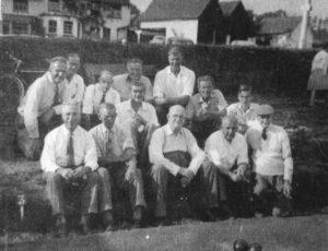With Danbury Bowls Club